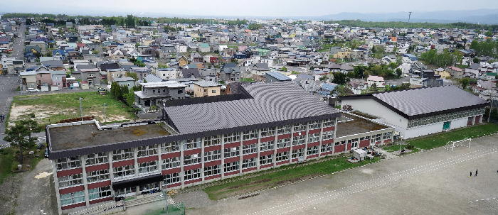 旭川市立春光台中学校